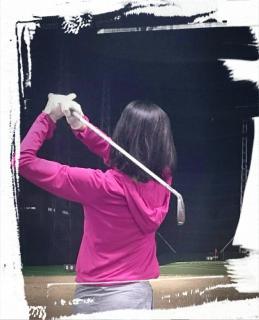 ゴルフ練習〜♪画像