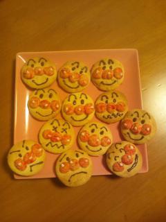 アンパンマン☆クッキー画像