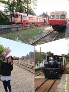 春色の汽車に乗って画像