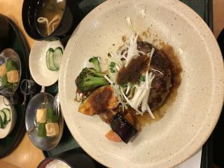 伊勢丹のレストランでお食事画像