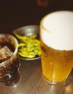 キャー!!生ビール!!画像