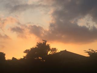 今日の夕日♪画像
