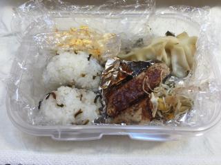 今日のお弁当…。画像