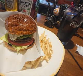 ハンバーガーうまーーーー!画像
