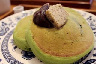 ☆抹茶のホットケーキ☆画像