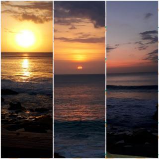 インドネシアの夕陽♪画像
