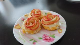 リンゴの薔薇のパイ♪画像