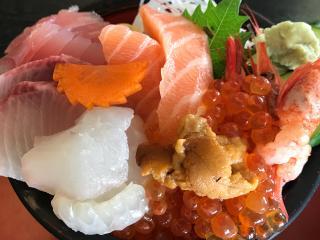 海鮮丼美味しかった♪画像