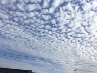 うろこ雲画像
