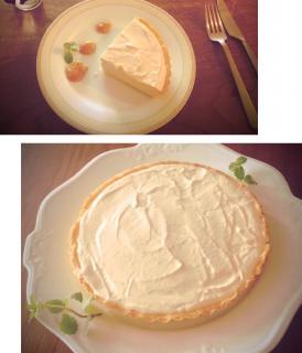 濃厚 レアチーズケーキ ♪画像