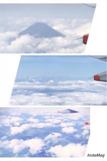 雲の上は・・画像