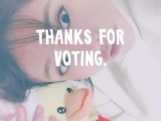 投票イベントのお礼画像
