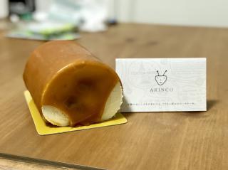 アリさん好みのロールケーキ。画像