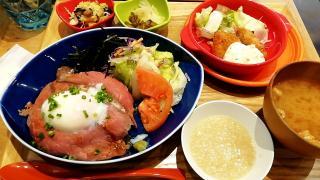 ローストビーフ丼♥画像