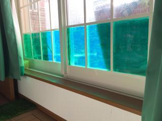 バルコニーにプールを作成画像