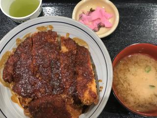味噌カツ丼画像