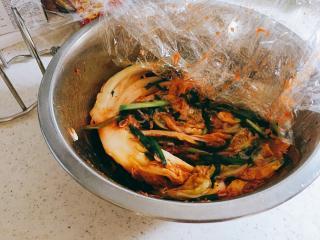 自家製海老入り白菜キムチ