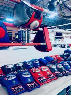 ムエタイとボクシング壘画像