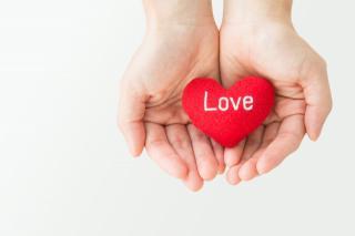 初ブログ♡「愛」をください。画像