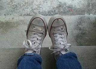 今日の靴画像