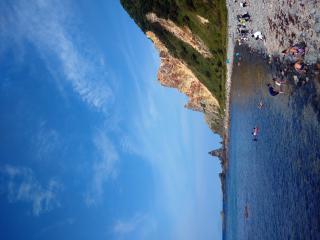 北海道の積丹ブルー画像