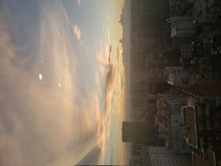 昨日の夕焼け画像