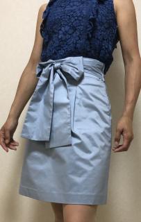 ワンサイズ下のスカート画像