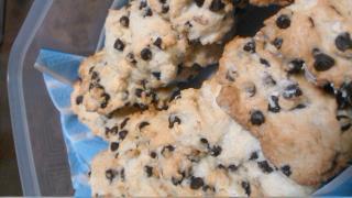 チョコチップクッキー。画像