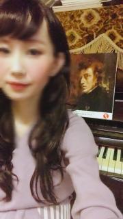 ピアノの練習♡画像