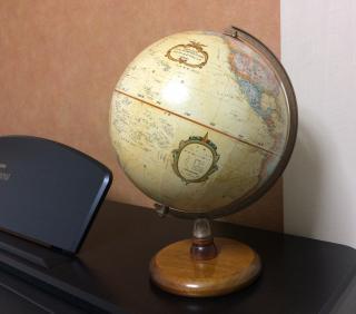おじいちゃんの地球儀