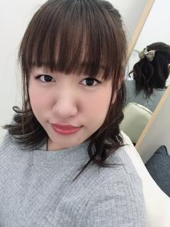 今日の髪型画像