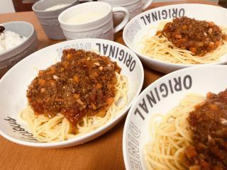 ミートスパゲティ画像