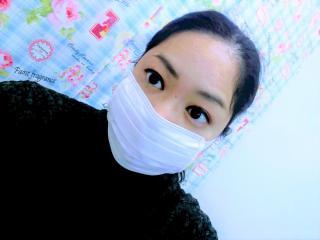 マスク(>_画像