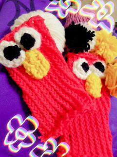 手編み〜♪♪♪