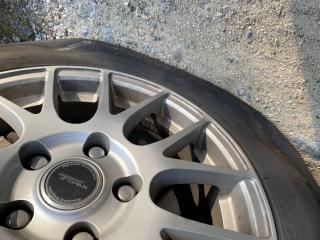 タイヤが…画像