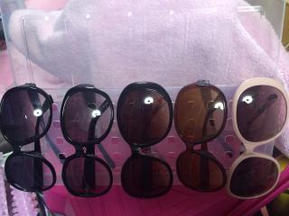 今月に購入したサングラス画像