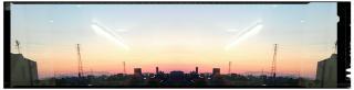夕焼けが綺麗でした。画像