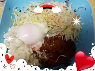 ロコモコ丼画像