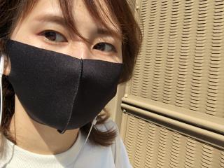 マスク慣れ画像