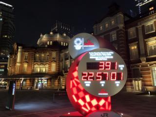 今は、東京駅の近くっ画像