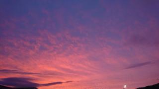 綺麗な夕焼け画像