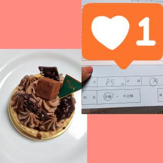 ケーキと☆高得点☆画像
