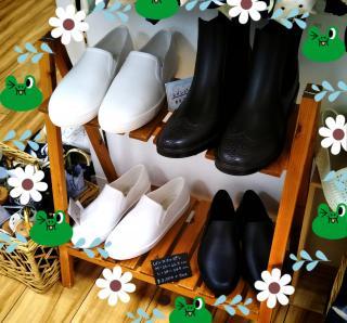 雨の日の靴は?画像