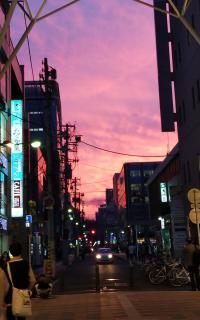 綺麗な夕焼け🌆画像