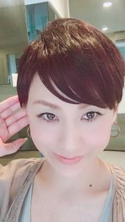 髪切りました( ^ω^ )画像