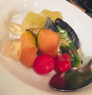 お野菜の冷やし出汁ひたし画像