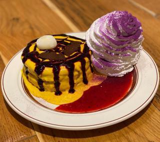 ハロウィンパンケーキ画像