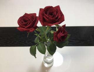 お花飾ってみました(。・ω・。)画像