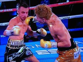 WBA バンタム級タイトルマッチ画像