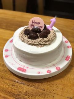手作りケーキ画像